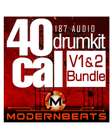 40Cal Drum Kit Bundle