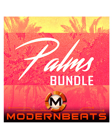 Palms Bundle Pack - Lo-Fi Vaporwave Hip-Hop Samples, Vocals, Loops