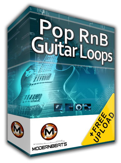 Pop RnB Guitar Loops