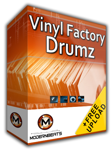 vinyl factory drums from modernbeats vinyl drum sounds samples straight from the crate. Black Bedroom Furniture Sets. Home Design Ideas